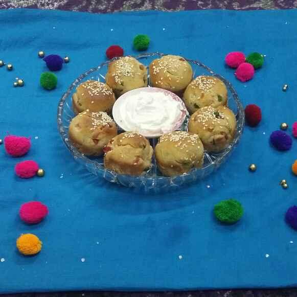 Photo of Whole Wheat Tutti Frutti Buns.. by Zeenath Muhammad Amaanullah at BetterButter