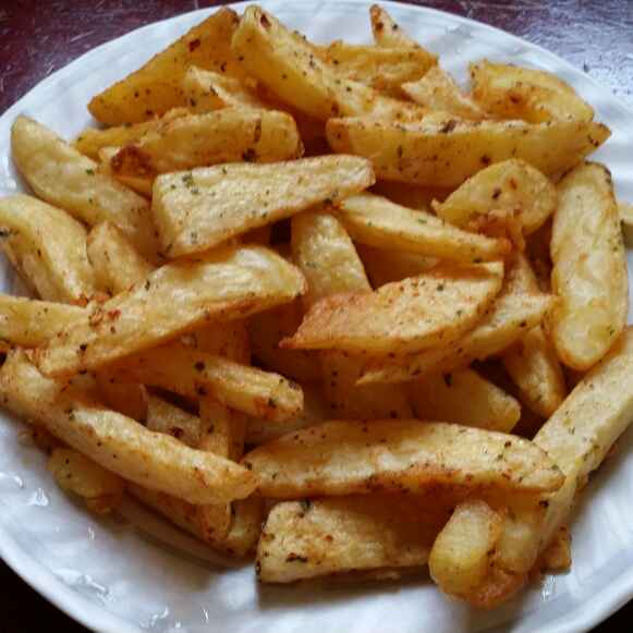Photo of Fried potato wedges by Zeenath Muhammad Amaanullah at BetterButter