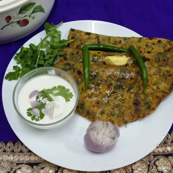 Photo of Palak methi missi roti by Zeenath Muhammad Amaanullah at BetterButter