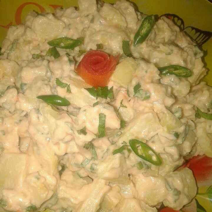 How to make Creamy Potato Salad...