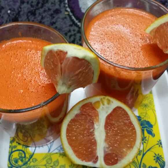 Photo of Carrot And Orange Juice by Zeenath Muhammad Amaanullah at BetterButter