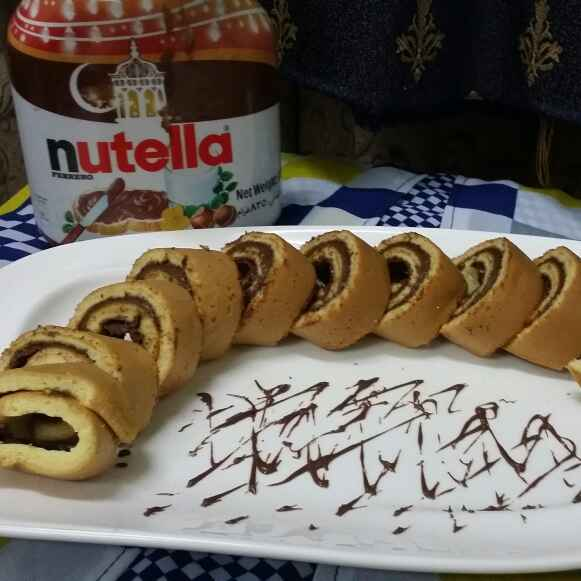 How to make Stove top Nutella Swiss Rolls