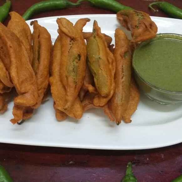 Photo of Hyderabadi Spicy Stuffed Mirchi by Zeenath Muhammad Amaanullah at BetterButter