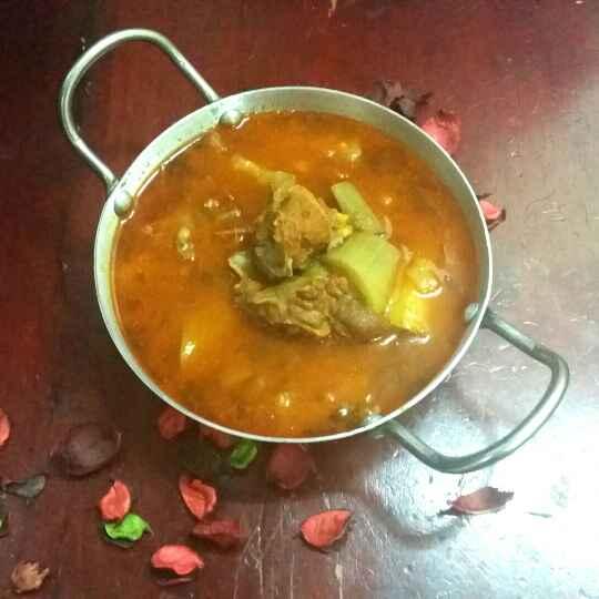 Photo of Hyderabadi Kaddu aur gosht ka dalcha.... by Zeenath Muhammad Amaanullah at BetterButter