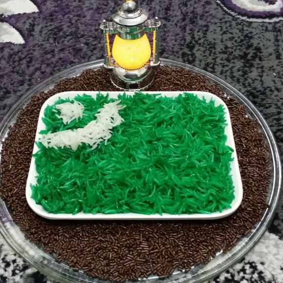 How to make Zarda Flag