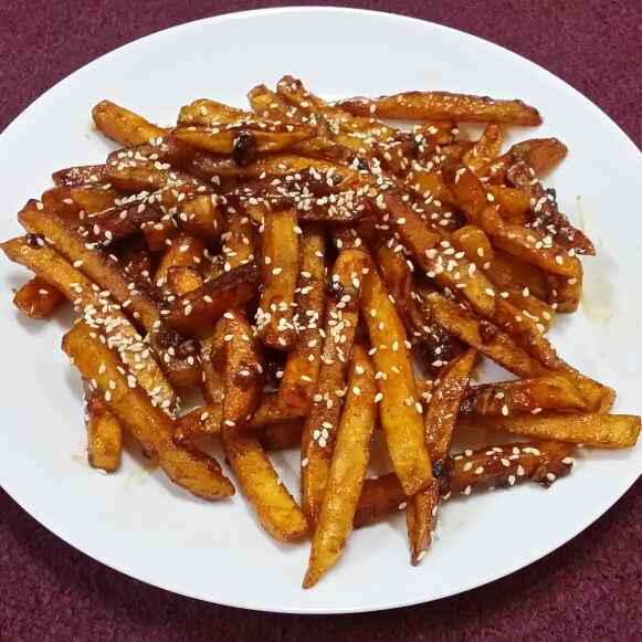 How to make Honey Chilli Fries