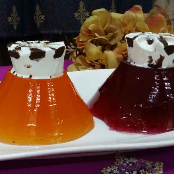 Photo of Jello and Chantilly Cream by Zeenath Muhammad Amaanullah at BetterButter