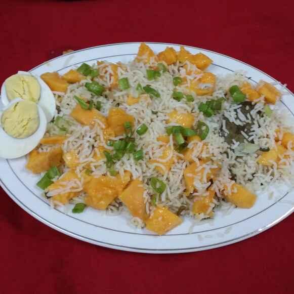 How to make Mango Pulao/Pilaf....