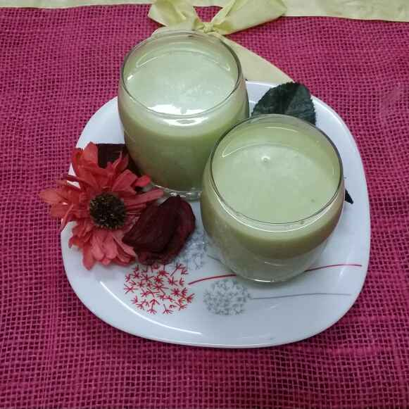 Photo of Avocado Smoothie... by Zeenath Muhammad Amaanullah at BetterButter