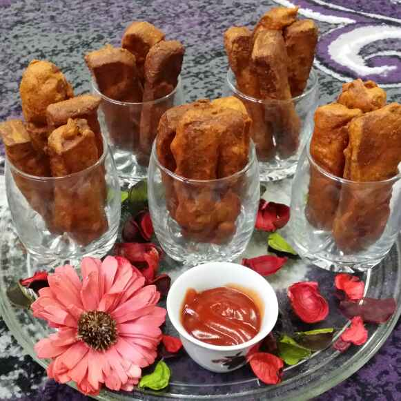 Photo of Fride bread sticks by Zeenath Muhammad Amaanullah at BetterButter