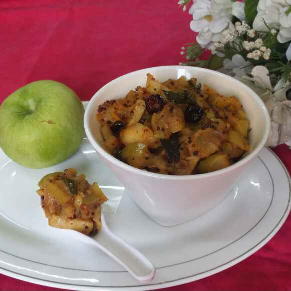 Photo of Green Apple Chutney... by Zeenath Muhammad Amaanullah at BetterButter