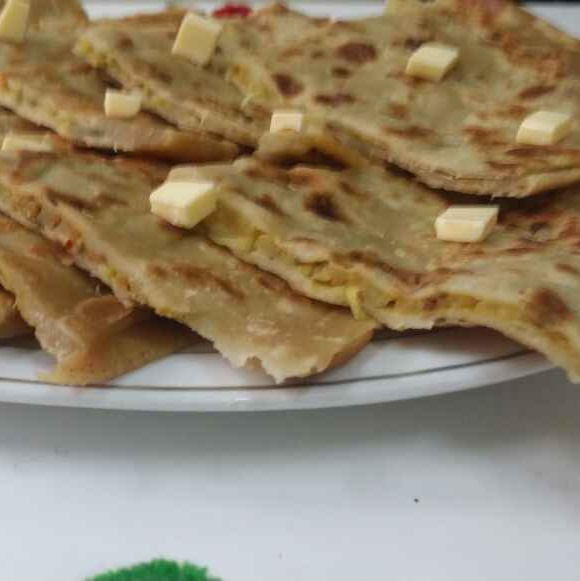 How to make Aaloo Paratha Pockets...