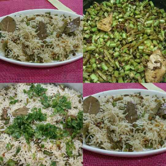 How to make Green Beans Pulao