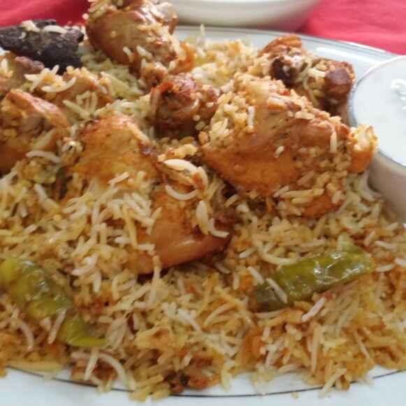 How to make Hyderabadi Chicken Dum Biryani