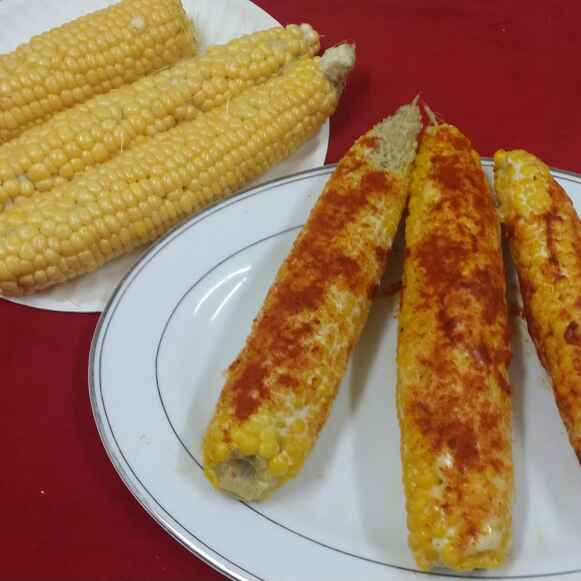 Photo of Mexican Corn on the Cob... by Zeenath Muhammad Amaanullah at BetterButter