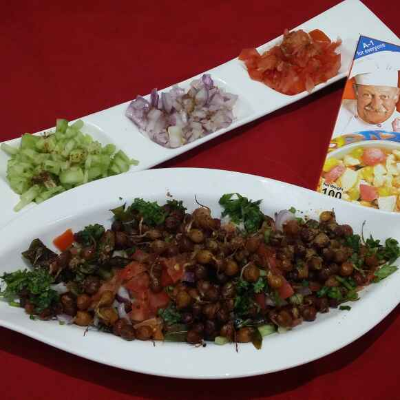 Photo of Microwave Sprouted Chana Chaat... by Zeenath Muhammad Amaanullah at BetterButter