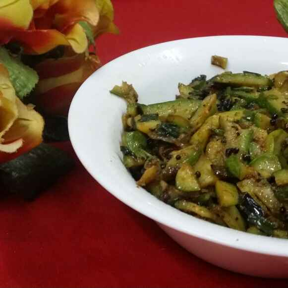 How to make Zucchini Stir Fry...