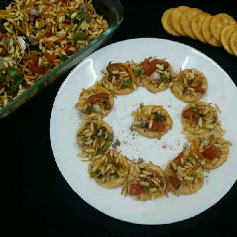 How to make Jhaal Muri Canapes...
