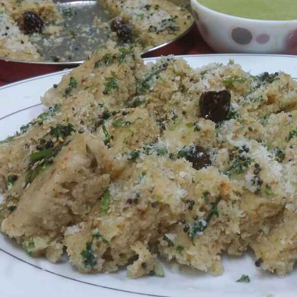 Photo of Sooji Dhokla/Rava Dhokla/Semolina Dhokla.. by Zeenath Muhammad Amaanullah at BetterButter