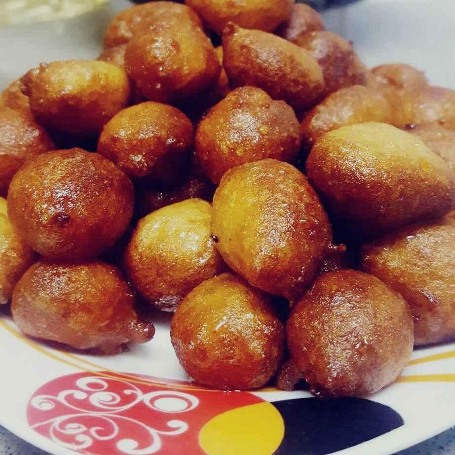 How to make The Somali Luqaimat...(Sweet Fried Dumplings)....