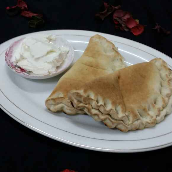 How to make Pita With Labneh...