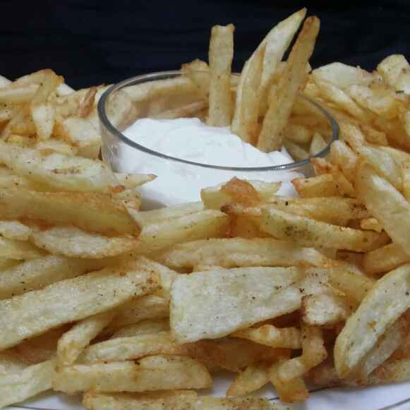 How to make Homemade Masala French Fries...