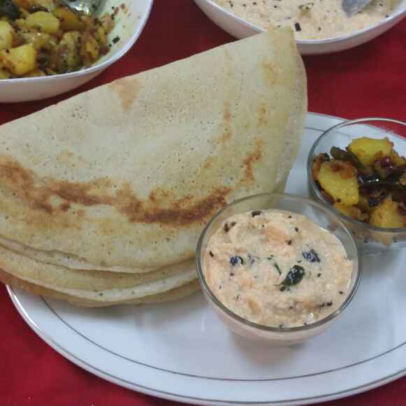 How to make Ghee Dosa...