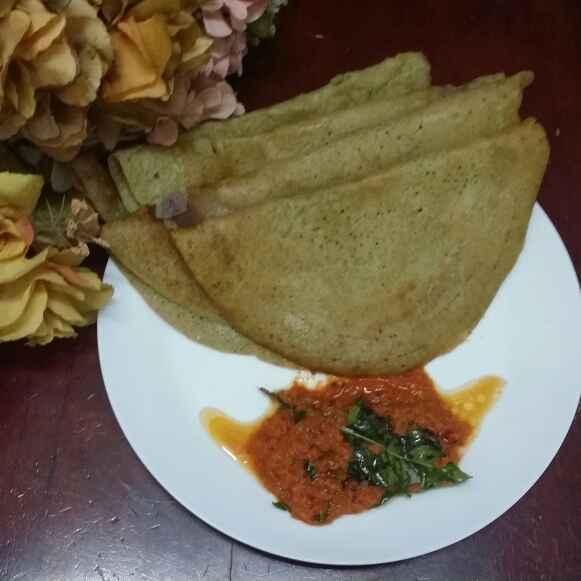 Photo of Adai Dosa/Mixed Lentil Dosa... by Zeenath Muhammad Amaanullah at BetterButter