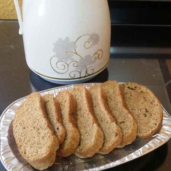 How to make Whole Wheat Flour Rusk...