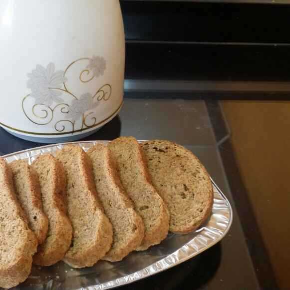 How to make Whole Wheat Flour Rusk...