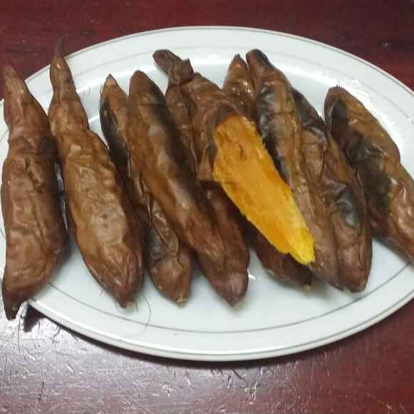 How to make Baked Sweet Potatoes...