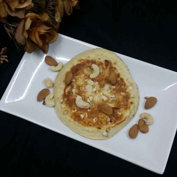How to make Dry Fruit Pancakes....