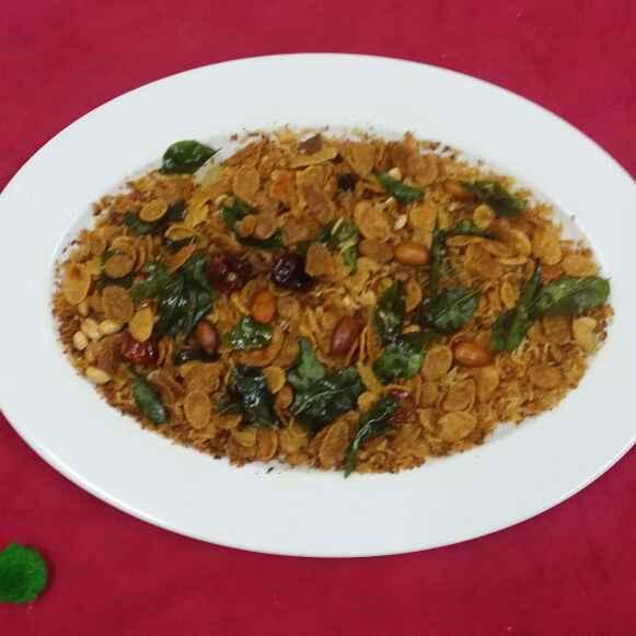 How to make Cooked Rice Namkeen....