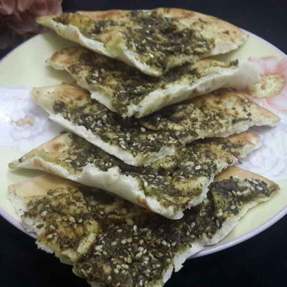 How to make Manakeesh Za'atar Pockets...