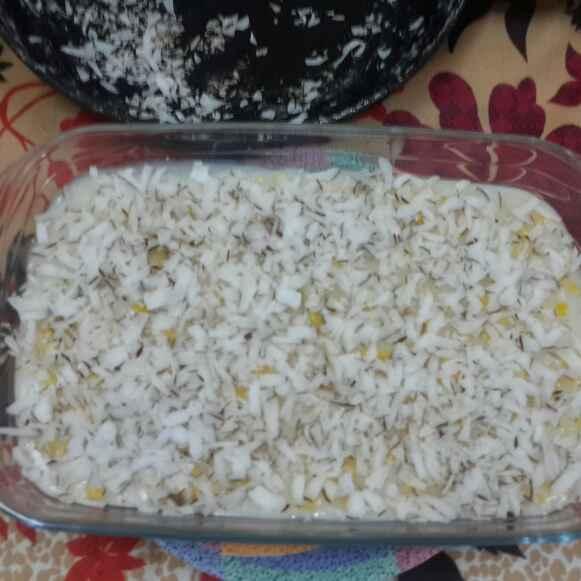 How to make Maja Blanca/Filipino Coconut Pudding.....