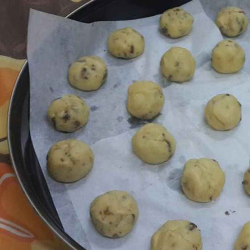 How to make Nutella Centered Cookies..