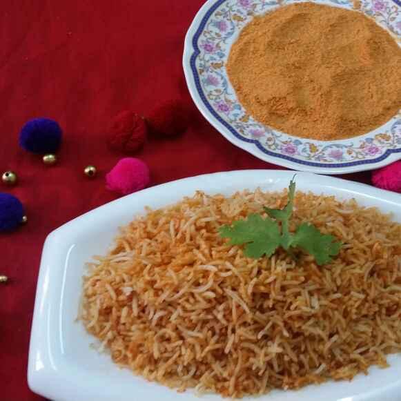 How to make Idli Podi Rice...