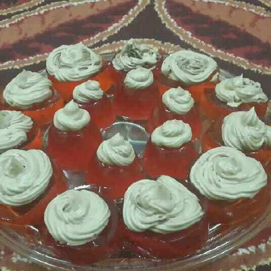 How to make Jello Cuppies with Buttercream Frosting....