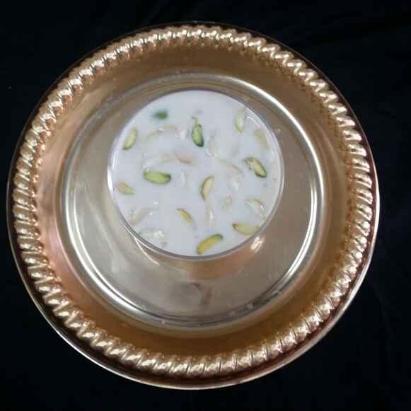How to make Badami Firni...