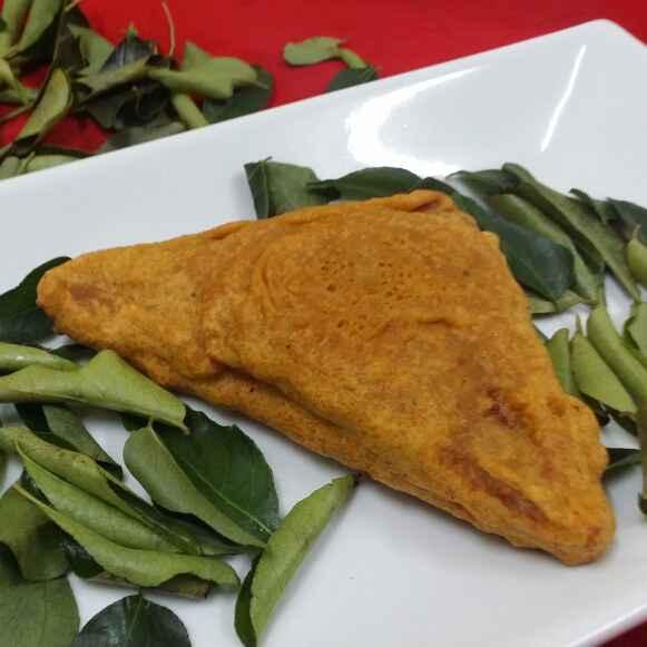 How to make Cheesy Bread Pakoras....