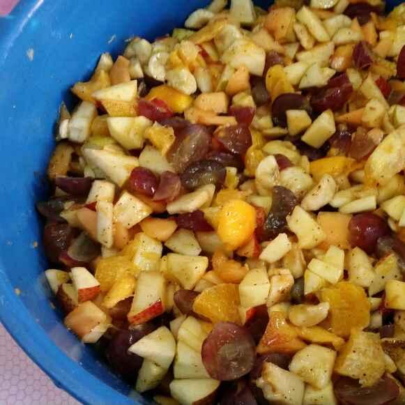 Kulia Fruit Chaat Recipe By Arti Gupta At BetterButter