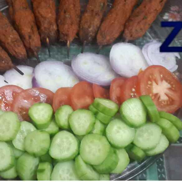 Photo of Baked Chicken Seekh Kababs.. by Zeenath Muhammad Amaanullah at BetterButter