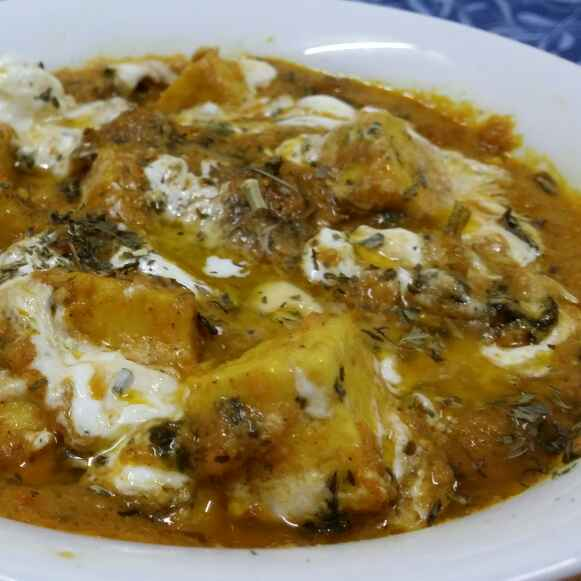 How to make Paneer Makhni/Butter Paneer