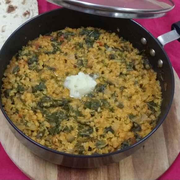 Photo of Daal Maat (Amaranthus With Red Lentils) by Zeenath Muhammad Amaanullah at BetterButter