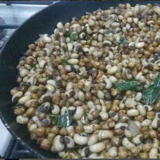 How to make Mixed Sprout Chaat