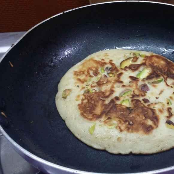 How to make Pistachio Pancakes...