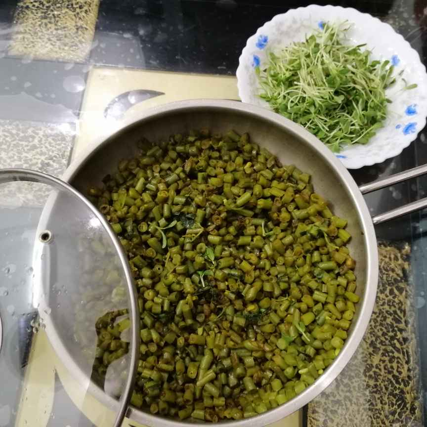 How to make Green Beans and Fenugreek Leaves Fry....