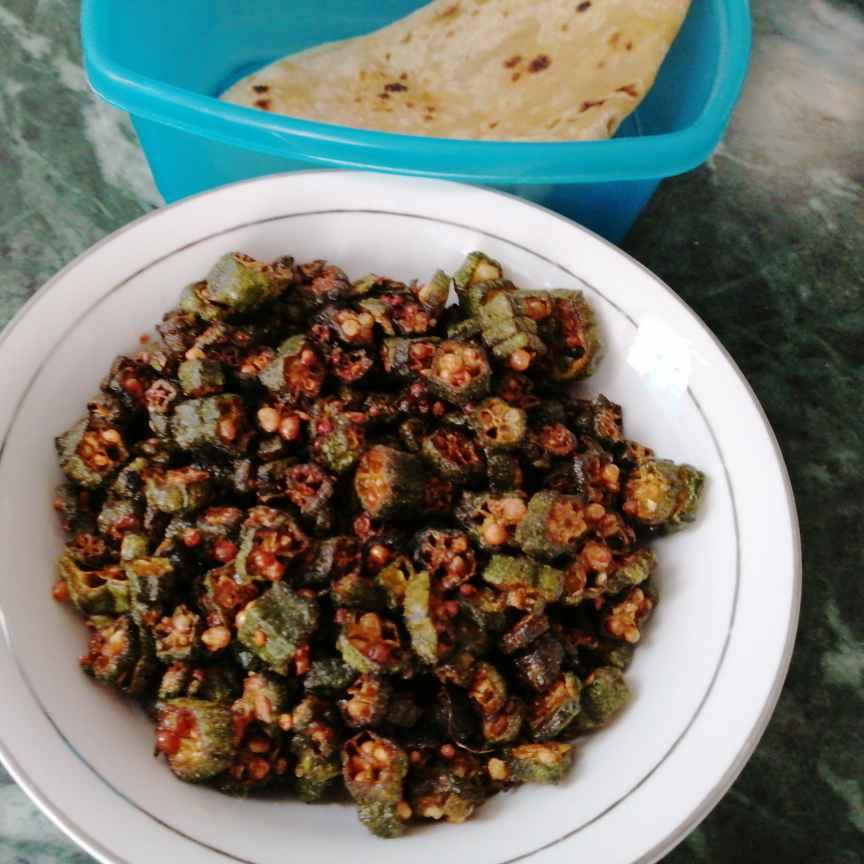 Photo of Deep Fried Kurkuri Bhindi... by Zeenath Muhammad Amaanullah at BetterButter