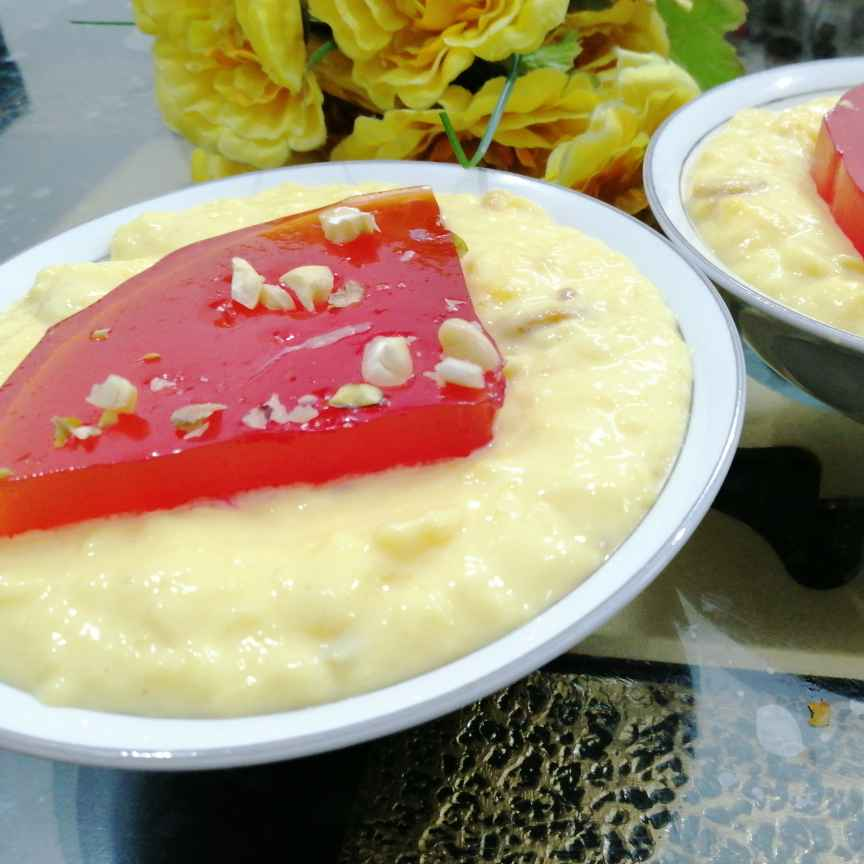 Photo of Custard With Jell-O by Zeenath Muhammad Amaanullah at BetterButter