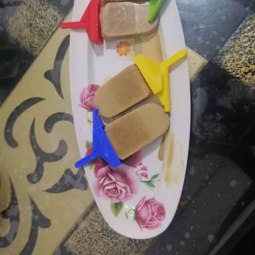 Photo of Boost Energy Drink Popsicles..(Boost is the secret of my energy drink Popsicles) by Zeenath Muhammad Amaanullah at BetterButter
